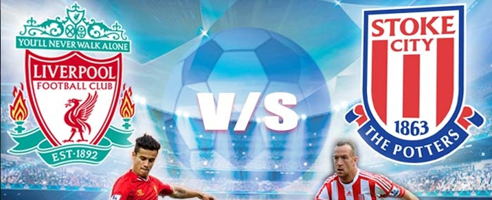 28/04/2018 Liverpool vs Stoke City Premier League