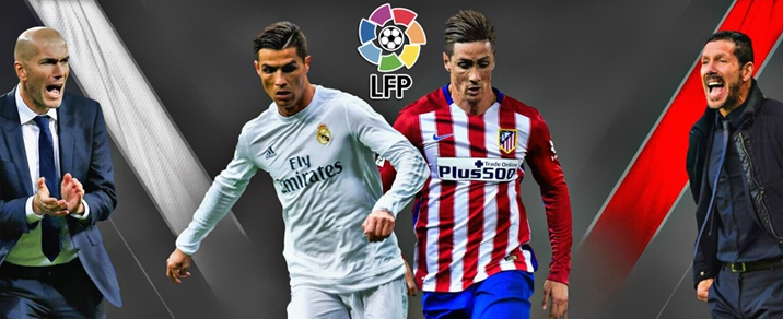 08/04/2018 Real Madrid vs Atletico de Madrid Spanish League