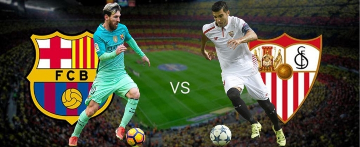 04/11/2017 FC Barcelona vs Sevilla FCSpanish League
