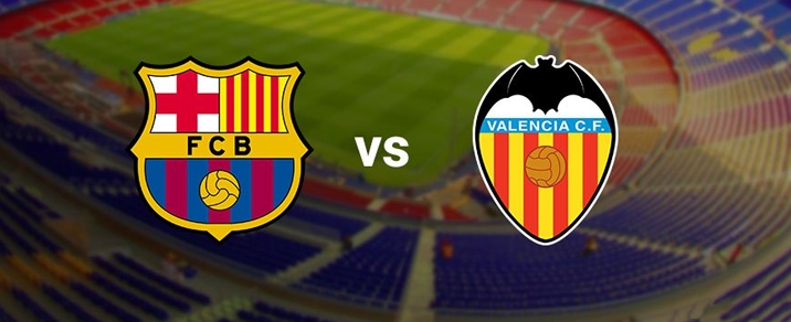 15/04/2018 FC Barcelona vs Valencia CF Spanish League
