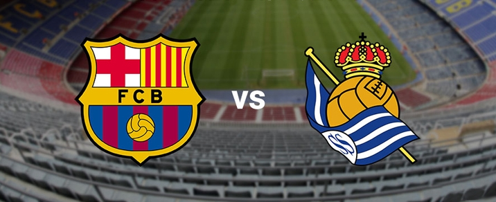 20/05/2018 FC Barcelona vs Real Sociedad Spanish League