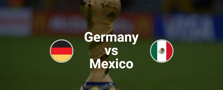 17/06/2018 Germany vs Mexico World Cup 2018 - Group Stages