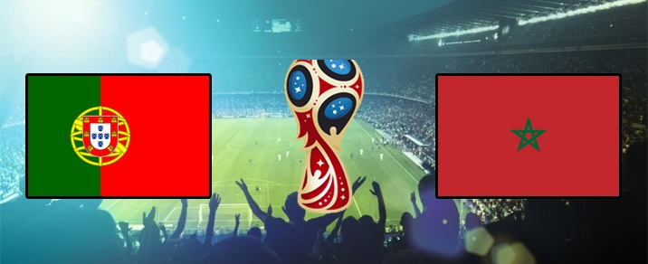 20/06/2018 Portugal vs Morocco World Cup 2018 - Group Stages