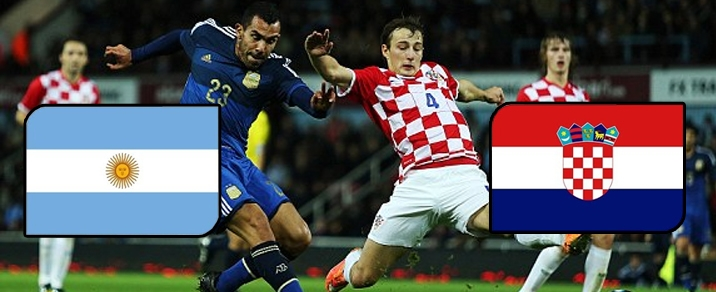 21/06/2018 Argentina vs Croatia World Cup 2018 - Group Stages