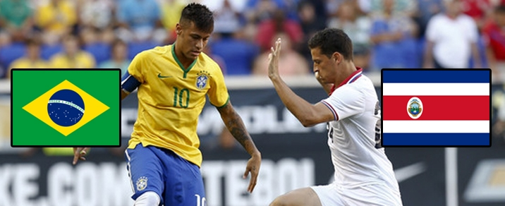 22/06/2018 Brazil vs Costa Rica World Cup 2018 - Group Stages