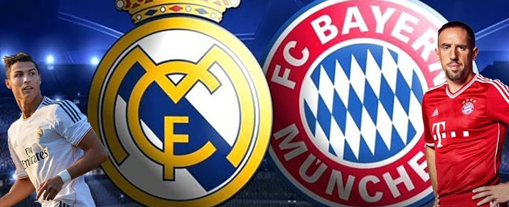 01/05/2018 Real Madrid vs FC Bayern München Champions League