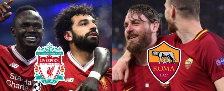 24/04/2018 Liverpool vs AS Roma Champions League