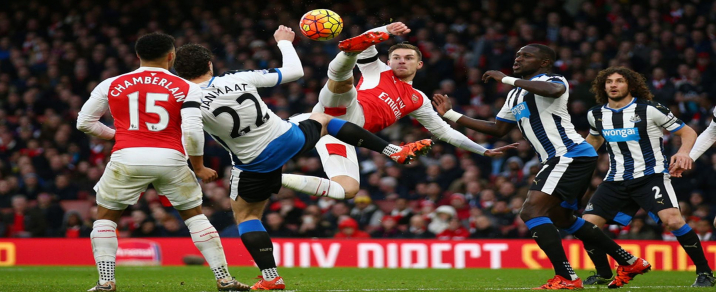 01/04/2019 Arsenal vs Newcastle Premier League