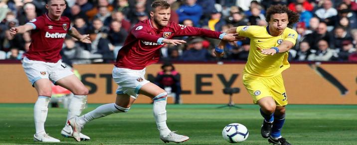 08/04/2019 Chelsea vs West Ham Premier League