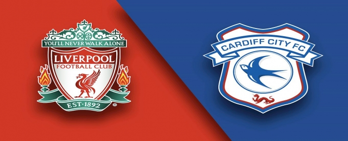 27/10/2018 Liverpool vs Cardiff City Premier League