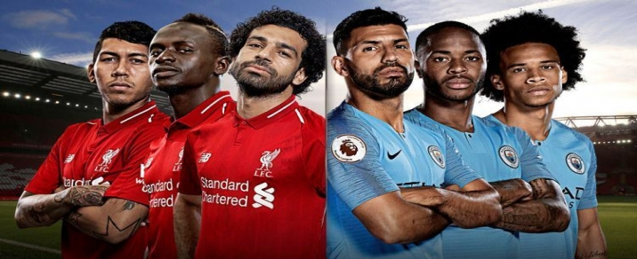 07/10/2018 Liverpool vs Manchester City Premier League
