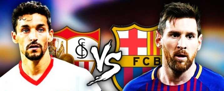 20/10/2018 FC Barcelona vs Sevilla FC Spanish League