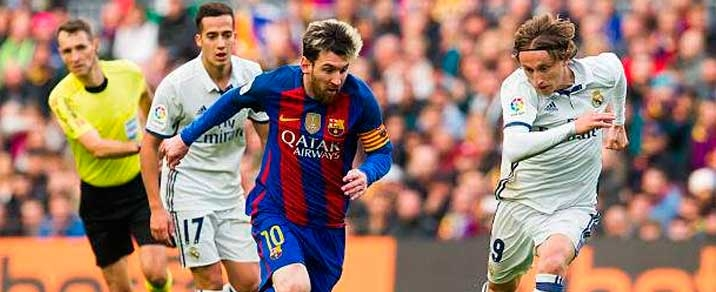 02/03/2019 Real Madrid vs FC Barcelona Spanish League