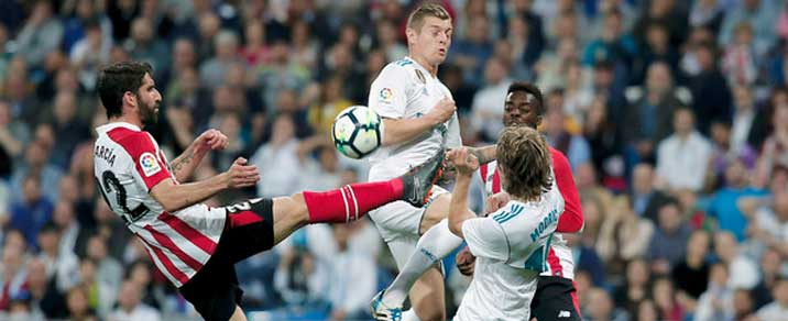 21/04/2019 Real Madrid vs Athletic Club Spanish League