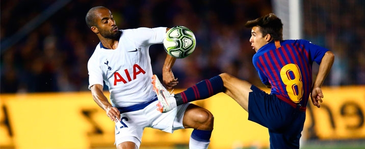 03/10/2018 Tottenham Hotspur vs FC Barcelona Champions League