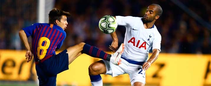 11/12/2018 FC Barcelona vs Tottenham Hotspur Champions League