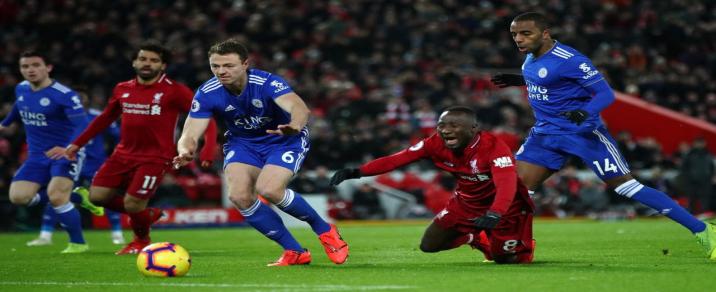 05/10/2019 Liverpool vs Leicester City Premier League