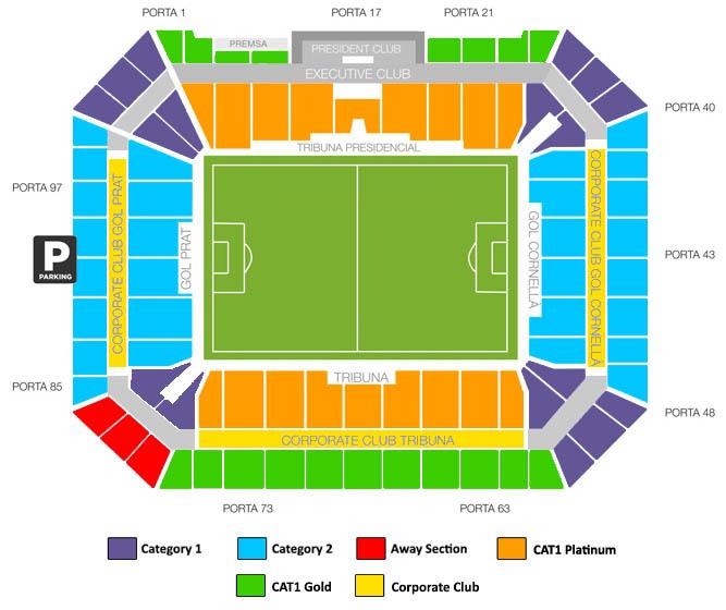 Barcelona Fc Seating Plan