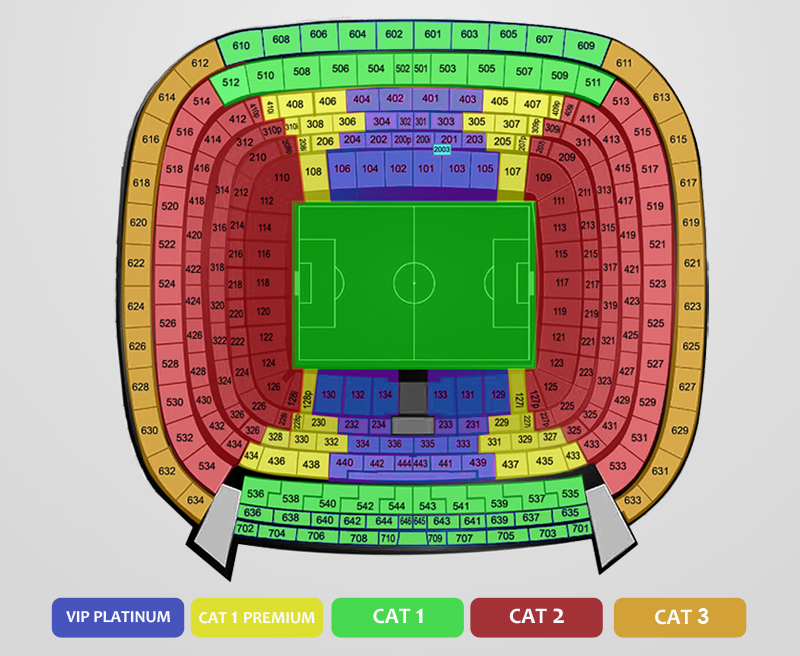 World Cup 2018 Qualification Tickets